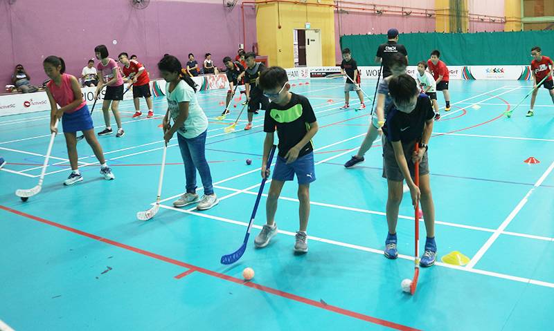 Youth Floorball Academy - Floorball Classes