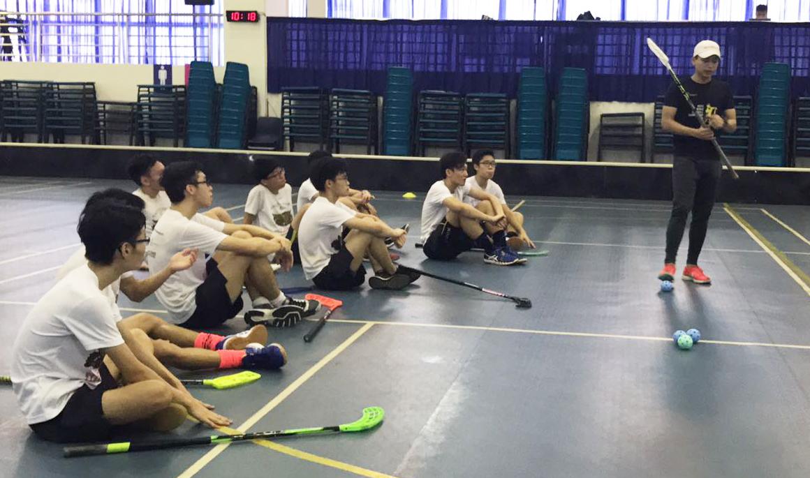 Youth Floorball Academy - Syazni coaching
